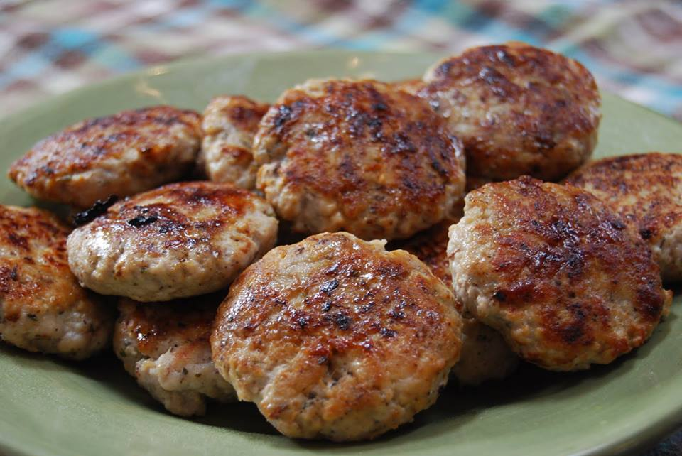 Healthier Homemade Sausage Patties