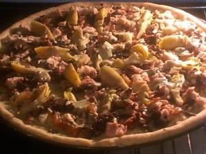 Chicken Pizza Whole Wheat Crust