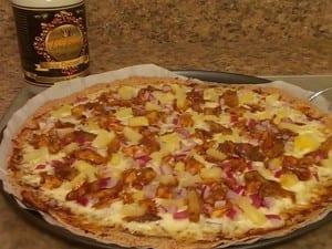 BBQ Coconut Pizza