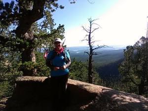 Michelle Pearson Pikes Peak 092014